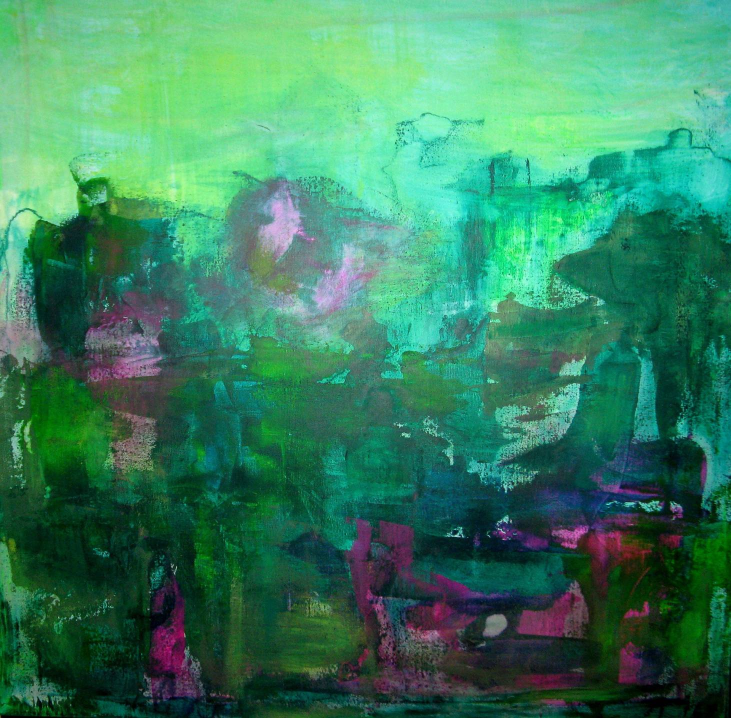 Greendream, 100x100cm